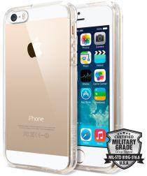 Spigen Ultra Hybrid Hoesje iPhone SE Transparant