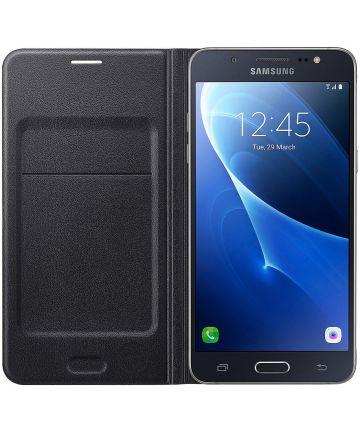 Samsung Galaxy J5 (2016) Wallet Case Zwart Hoesjes