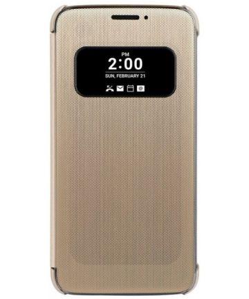 LG G5 (SE) Quick Cover Case Goud Hoesjes