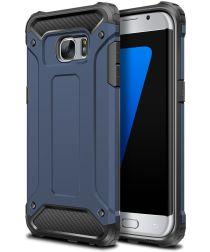 Samsung Galaxy S7 Hoesje Cool Armor Blauw