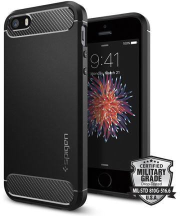 Spigen Rugged Armor Hoesje iPhone SE