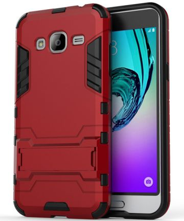 Samsung Galaxy J3 (2016) Hybrid Case Red