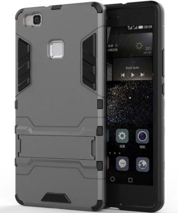 Hybride Huawei P9 Lite Hoesje Grijs