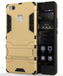Hybride Huawei P9 Lite Hoesje Goud