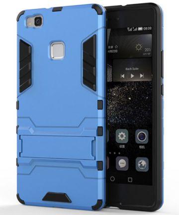 Hybride Huawei P9 Lite Hoesje Blauw