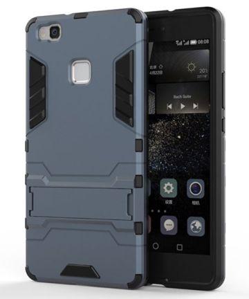 Hybride Huawei P9 Lite Hoesje Donker Blauw