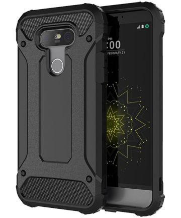 LG G5 (SE) Hybrid Armor Hoesje Zwart