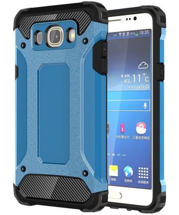 Samsung Galaxy J5 (2016) Hybride Hoesje Blauw