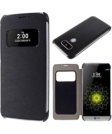 LG G5 (SE) Flip Hoesje Window View Zwart