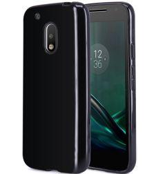 Motorola Moto G4 (Plus) TPU hoesje Zwart