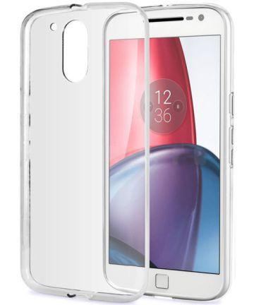 Transparant Motorola Moto G4 (Plus) TPU hoesje