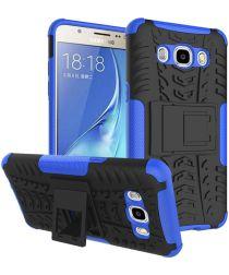 Samsung Galaxy J5 (2016) Hybrid Kickstand Hoesje Blauw