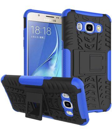 Samsung Galaxy J5 (2016) Hybrid Kickstand Hoesje Blauw Hoesjes