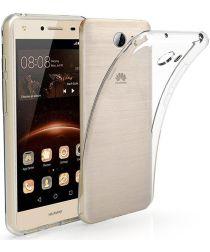 Huawei Y5II Hoesje Dun TPU Transparant
