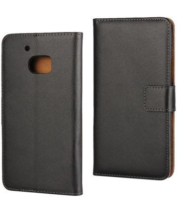 HTC 10 Portemonnee Stand Hoesje Zwart Hoesjes