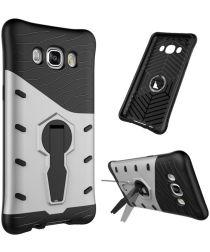 Samsung Galaxy J5 (2016) Kickstand Case Zilver