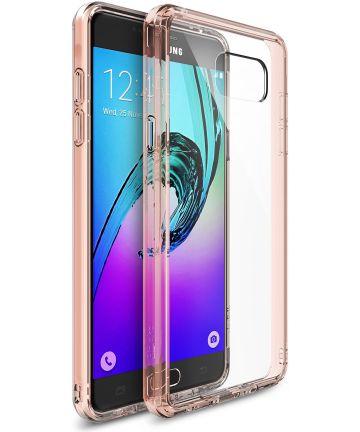 Ringke Fusion Samsung Galaxy A3 (2016) Hoesje Doorzichtig Rose Gold