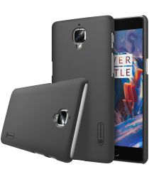 Nillkin Super Frosted Shield OnePlus 3T / 3 hoesje zwart
