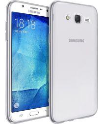 Samsung Galaxy J7 (2016) Ultra Dun Transparant Hoesje