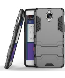 Hybride OnePlus 3T / 3 Back Cover Grijs