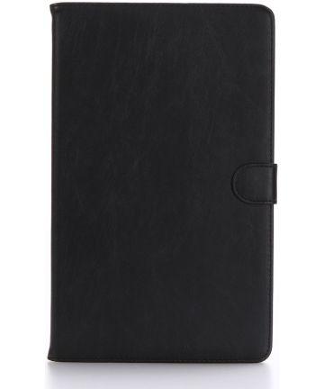 Samsung Galaxy Tab A 10.1 (2016) Flip Hoes Zwart Hoesjes
