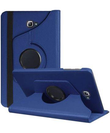 Samsung Galaxy Tab A 10.1 (2016) 360° Draaibare Hoes Blauw Hoesjes