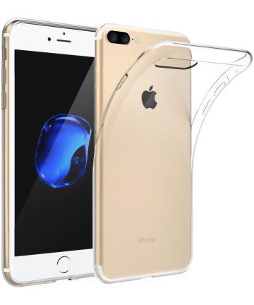 Apple iPhone 7 Plus / 8 Plus Transparant Hoesje Hoesjes