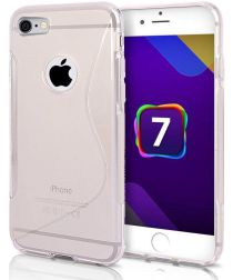 Flexibel Apple iPhone 8/7 Hoesje S-Curve Transparant