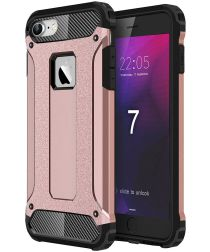 Apple iPhone 7/8 Hoesje Shock Proof Hybride Back Cover Roze