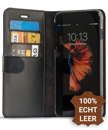 Valenta Classic Luxe iPhone 8/7/6(s) Plus Hoesje Leer Bookcase Zwart