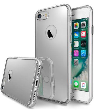 Ringke Fusion Mirror Apple iPhone 7/8 spiegel hoesje Zilver Hoesjes