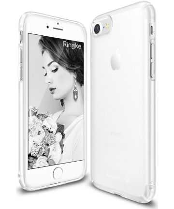 Ringke Slim Apple iPhone SE 2020 ultra dun hoesje Frost White