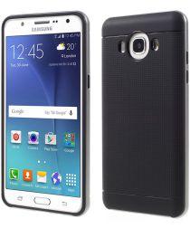 Samsung Galaxy J5 2016 Hybride TPU Hoesje Grijs