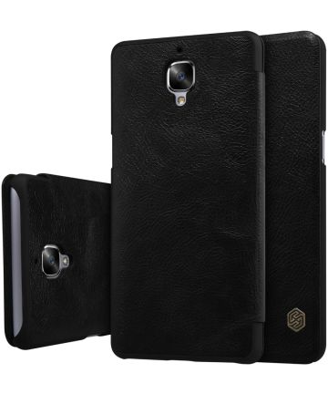 Nillkin Qin Book Case OnePlus 3T / 3 Zwart