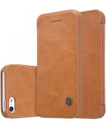 Nillkin Qin Book Apple iPhone 5(S)/SE Bruin