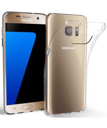 Samsung Galaxy S7 Hoesje Dun TPU Transparant