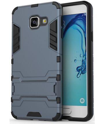 Hybride Samsung Galaxy A3 (2016) Hoesje Blauw