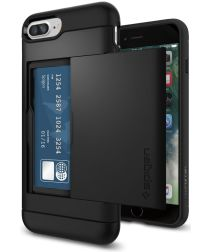 Spigen Slim Armor Card Holder Case Apple iPhone 7 Plus / 8 Plus Black