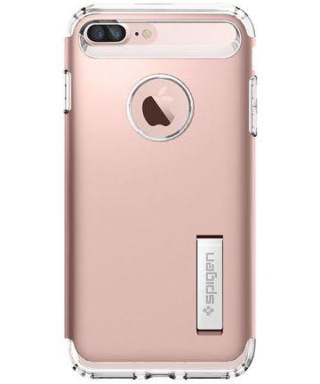Spigen Slim Armor Apple iPhone 7 Plus / 8 Plus Hoesje Rose Gold