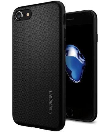 Spigen Liquid Armor Hoesje iPhone 7 / 8 Zwart