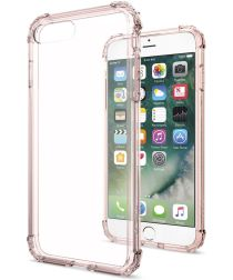 Spigen Crystal Shell Hoesje Apple iPhone 7 Plus / 8 Plus Rose