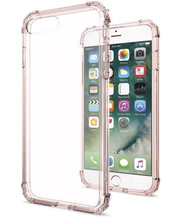 Spigen Crystal Shell Hoesje Apple iPhone 7 Plus / 8 Plus Rose
