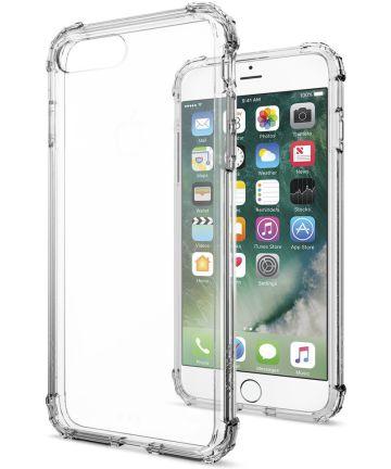 Spigen Crystal Shell Hoesje Apple iPhone 7 Plus / 8 Plus Clear