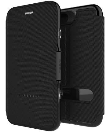 Gear4 D3O Oxford Apple iPhone 8 / 7 / 6 Hoesje Book Case Zwart