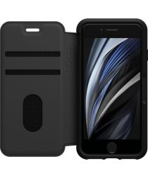 Otterbox Strada Folio Case iPhone SE 2020 / 8 / 7 Zwart