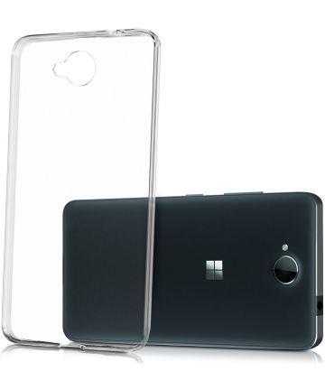 Microsoft Lumia 650 Transparant Hoesje