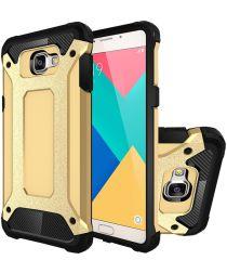 Samsung Galaxy A5 (2016) Hybride Beschermhoesje Goud