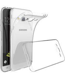 Samsung Galaxy J3 (2016) Hoesje Dun TPU Transparant