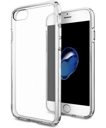 Apple iPhone 7 / 8 Transparant Hybride Bumper Hoesje Hoesjes