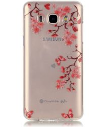 Samsung Galaxy J5 (2016) TPU Back Cover Bloemen